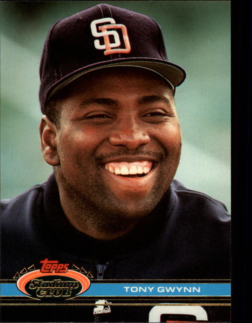 1991 Stadium Club #308 Tony Gwynn
