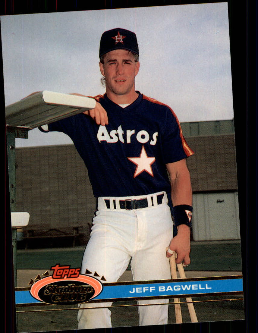 1991 Stadium Club #388 Jeff Bagwell RC