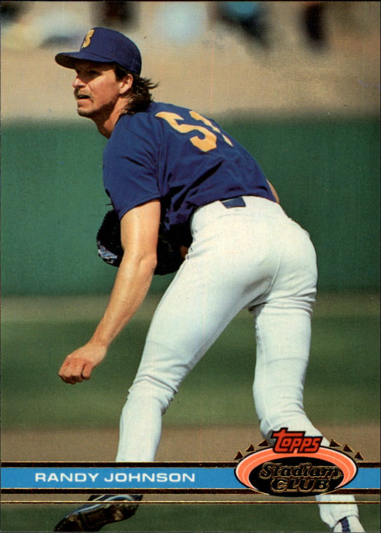 1991 Stadium Club #409 Randy Johnson