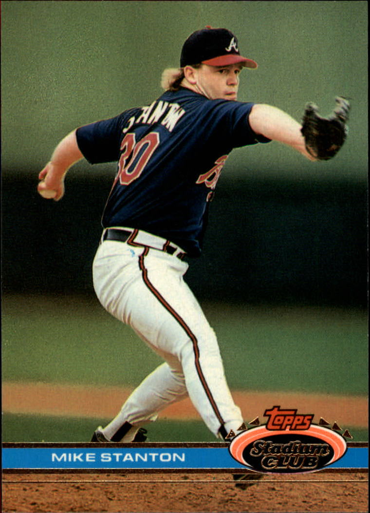 1991 Stadium Club #413 Mike Stanton