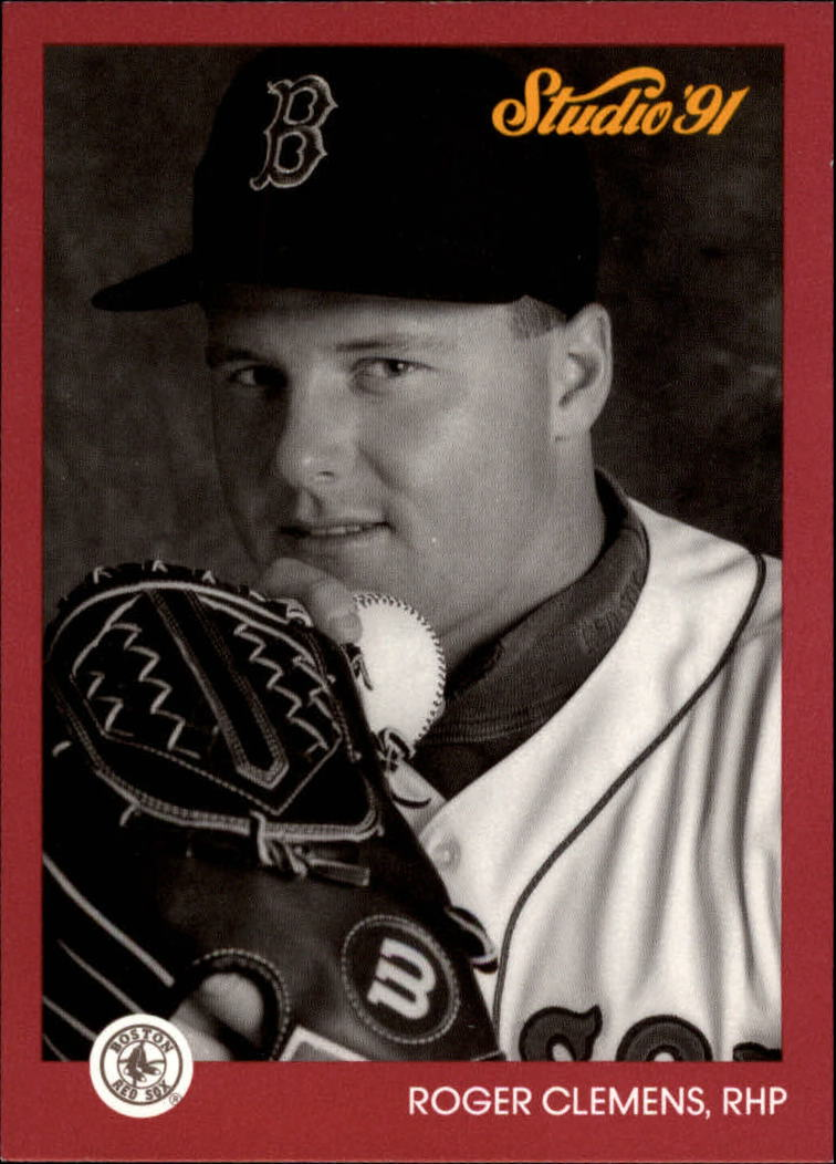 1991 Studio Previews #2 Roger Clemens