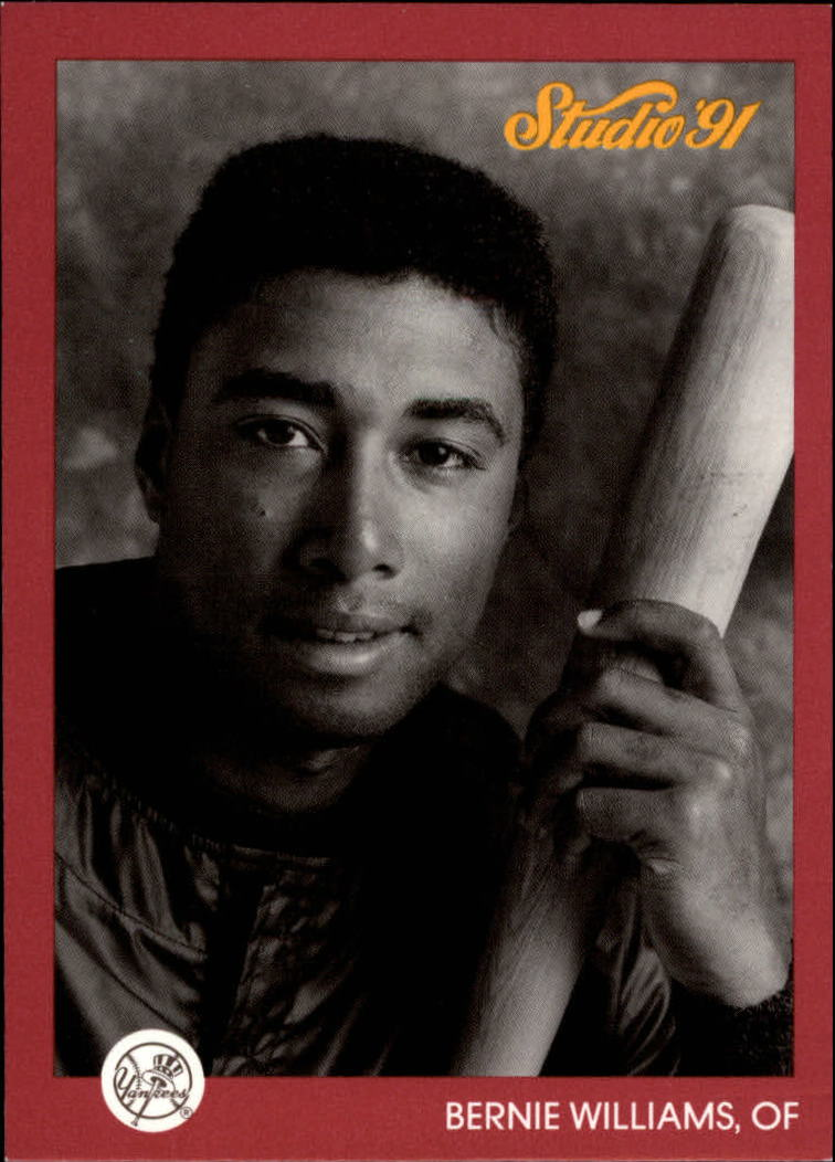 1991 Studio Previews #7 Bernie Williams