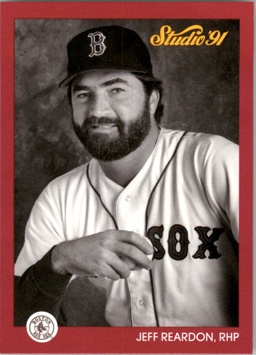 1991 Studio #19 Jeff Reardon