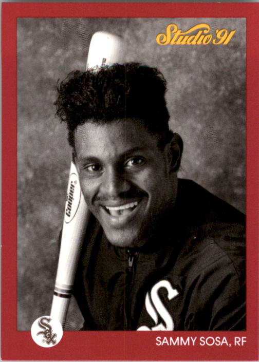 1991 Studio #38 Sammy Sosa