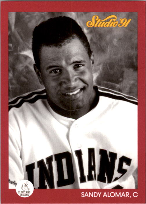 1991 Studio #41 Sandy Alomar Jr.