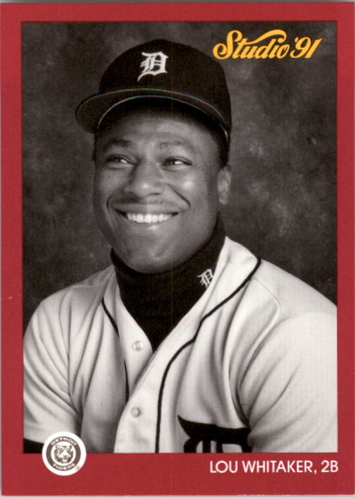 1991 Studio #60 Lou Whitaker