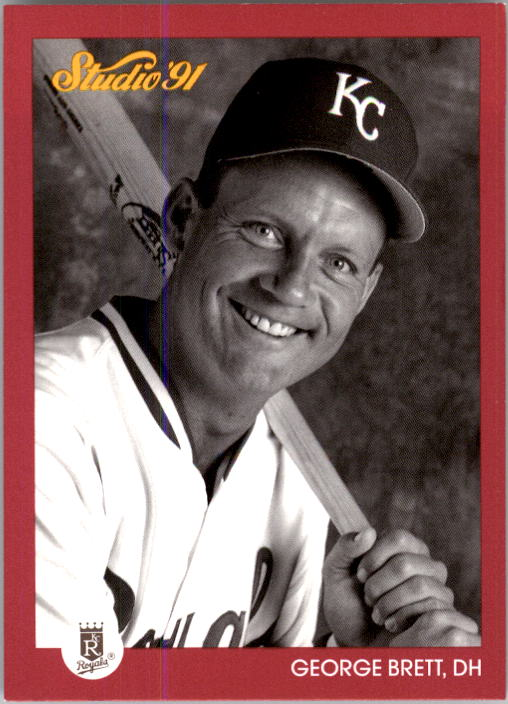 1991 Studio #62 George Brett