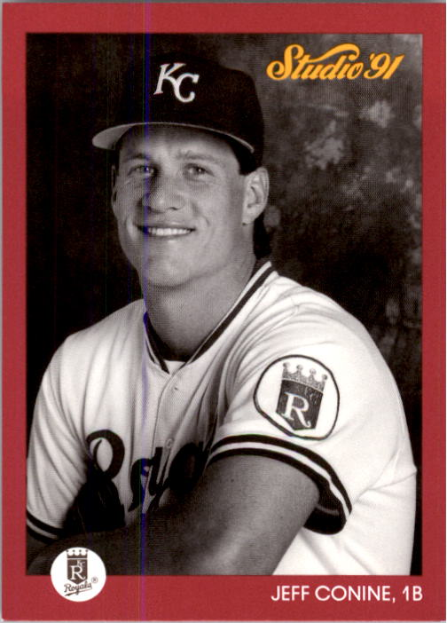 1991 Studio #63 Jeff Conine RC