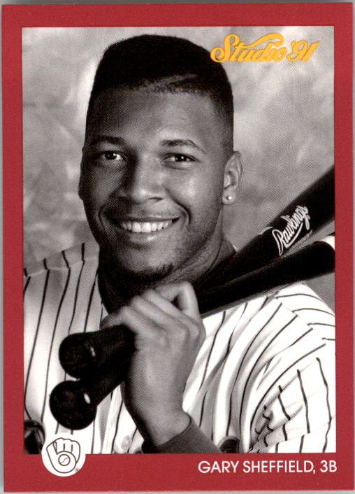 1991 Studio #76 Gary Sheffield