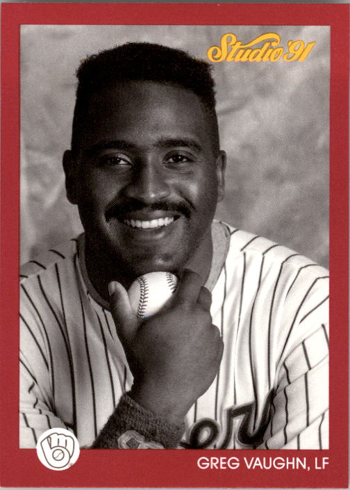 1991 Studio #79 Greg Vaughn