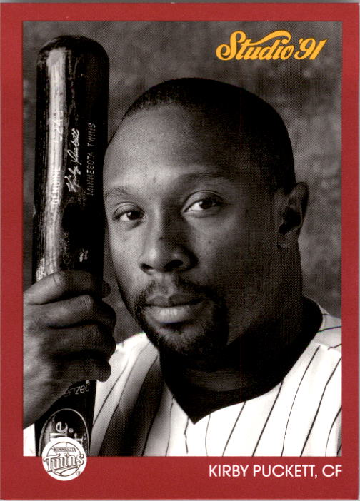1991 Studio #90 Kirby Puckett