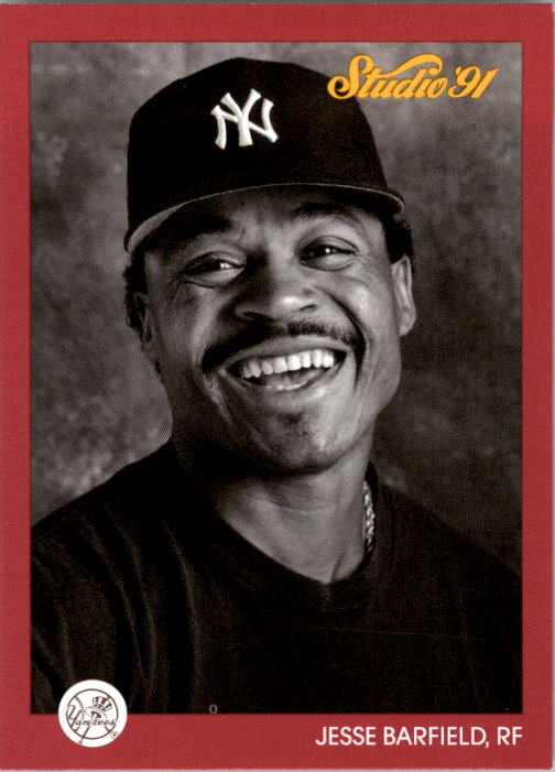 1991 Studio #91 Jesse Barfield