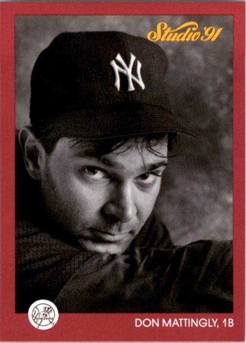 1991 Studio #97 Don Mattingly