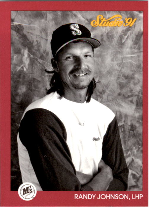 1991 Studio #116 Randy Johnson