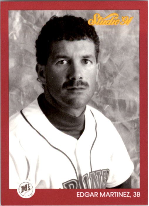 1991 Studio #117 Edgar Martinez