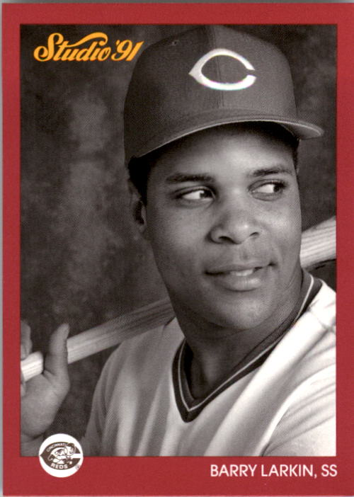 1991 Studio #167 Barry Larkin
