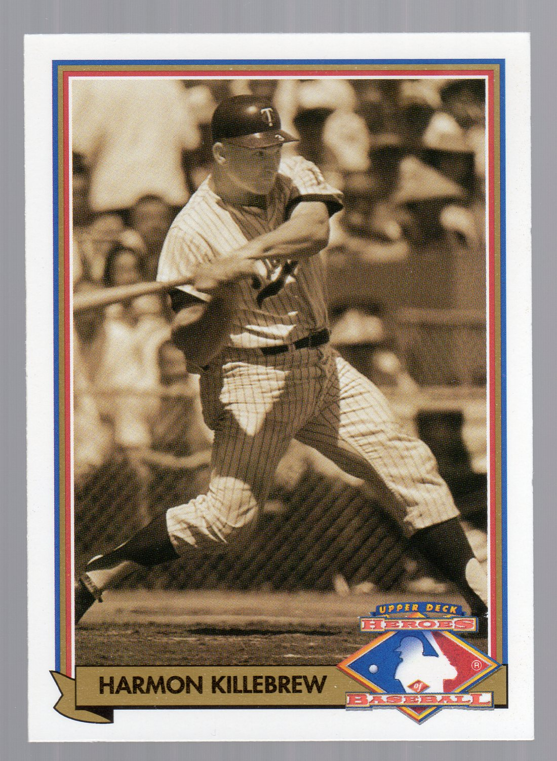 1991 Upper Deck Heroes of Baseball #H1 Harmon Killebrew