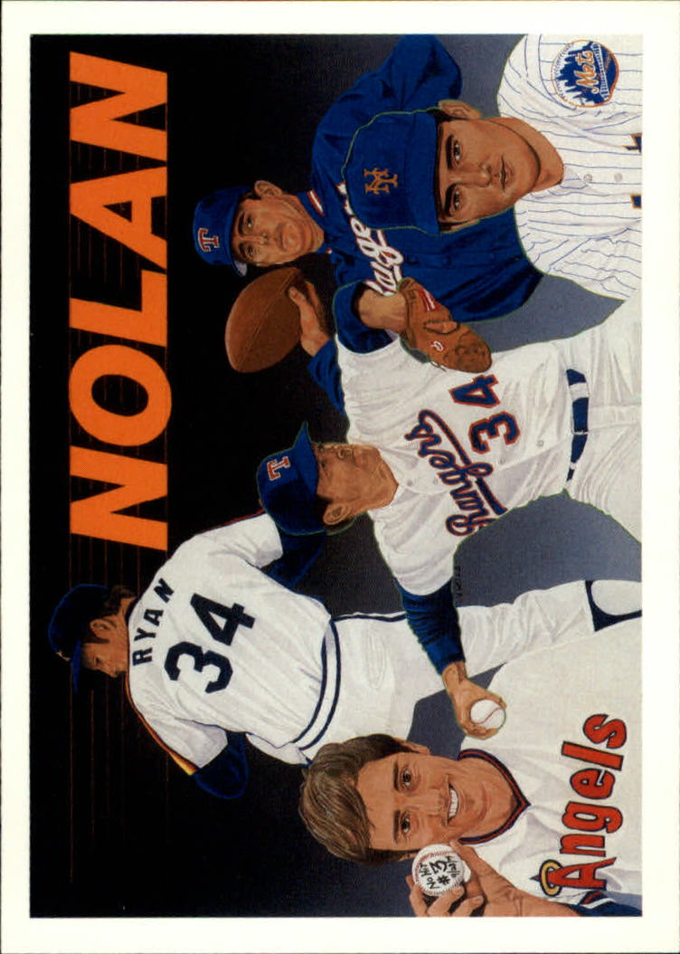 1991 Upper Deck Ryan Heroes #18 Nolan Ryan CL