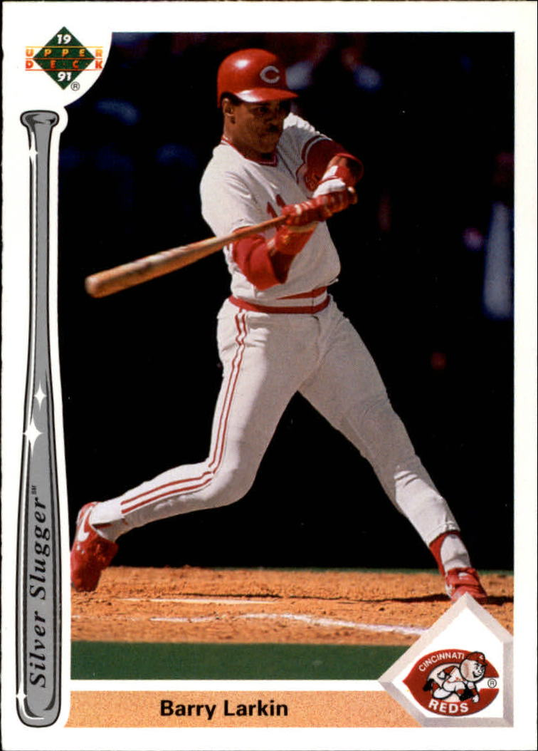 1991 Upper Deck Silver Sluggers #SS18 Barry Larkin
