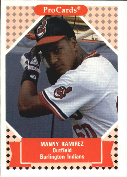 1991-92 ProCards Tomorrow's Heroes #62 Manny Ramirez