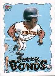1992 Topps Kids #21 Barry Bonds