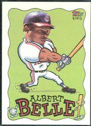 1992 Topps Kids #73 Albert Belle