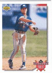 1992 Upper Deck Minors #60 Alex Gonzalez DS
