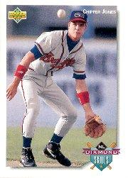 1992 Upper Deck Minors #66 Chipper Jones DS