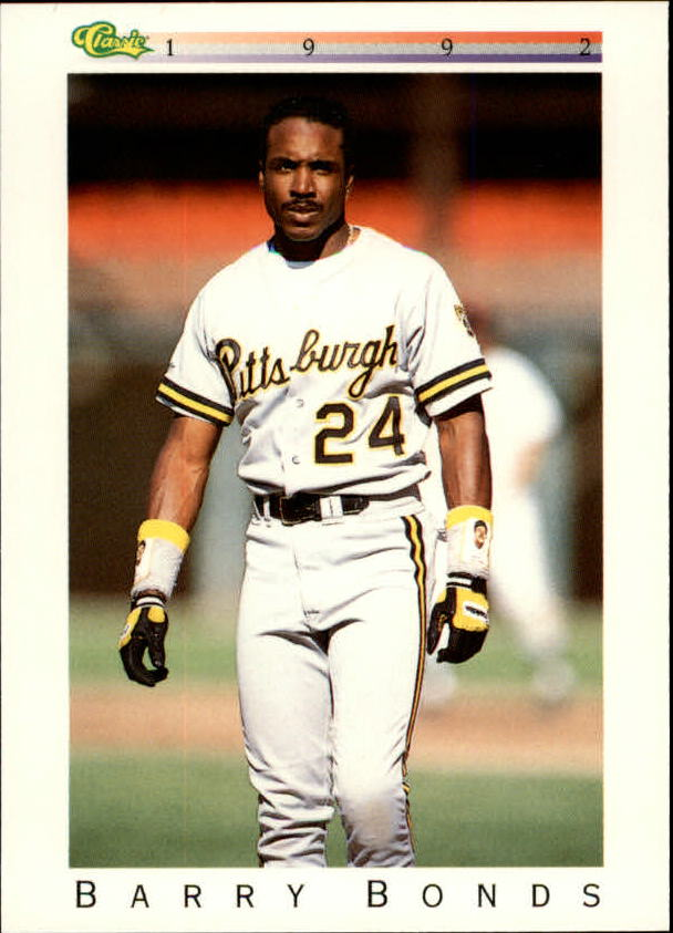 1992 Classic I #T16 Barry Bonds