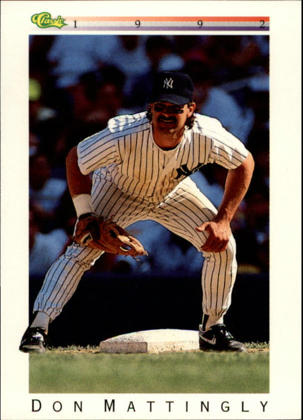 1992 Classic I #T58 Don Mattingly