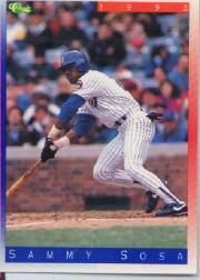 1992 Classic II #T27 Sammy Sosa