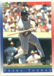 1992 Classic II #T87 Frank Thomas