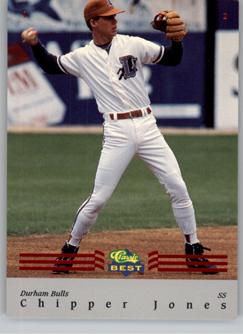 1992 Classic/Best Red Bonus #BC7 Chipper Jones