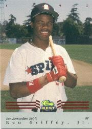 1992 Classic/Best Red Bonus #BC12 Ken Griffey Jr.