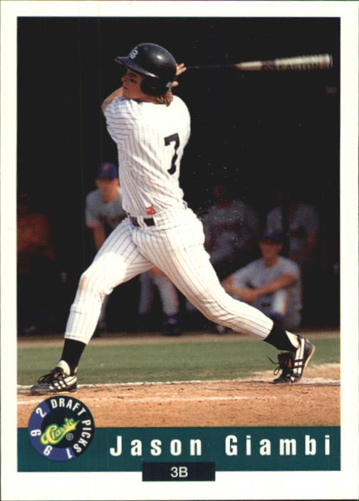 1992 Classic Draft Picks #42 Jason Giambi