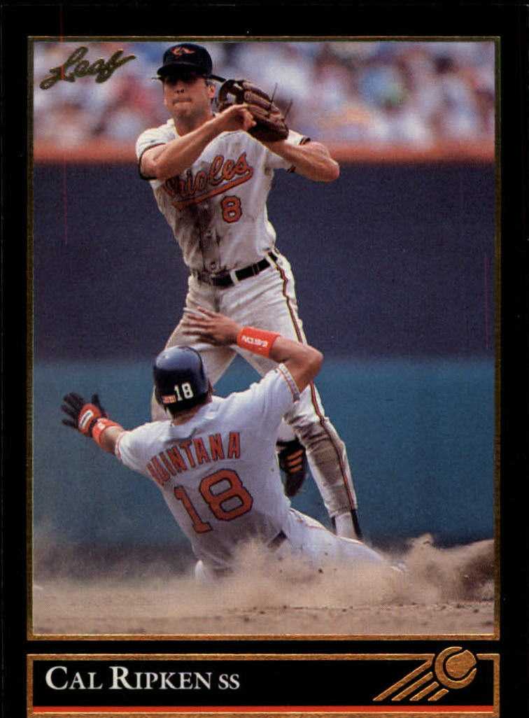 1992 Leaf Gold Previews #13 Cal Ripken