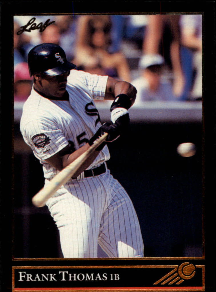 1992 Leaf Gold Previews #16 Frank Thomas