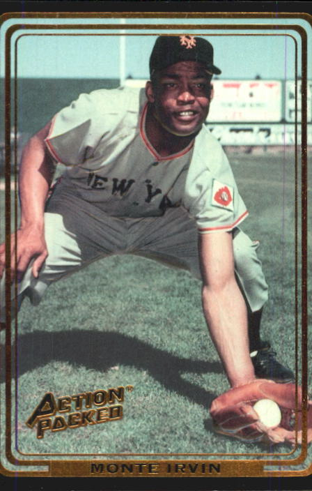 1992 Action Packed ASG #10 Monte Irvin