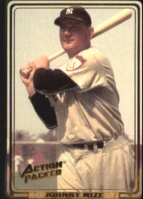 1992 Action Packed ASG #13 Johnny Mize