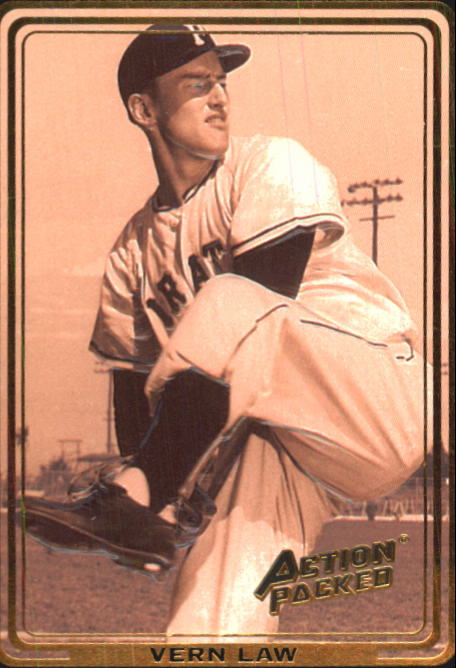 1992 Action Packed ASG #19 Vernon Law