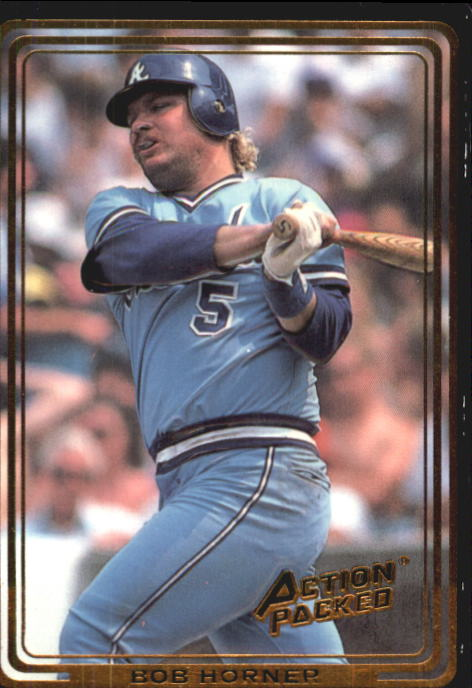 1992 Action Packed ASG #30 Bob Horner