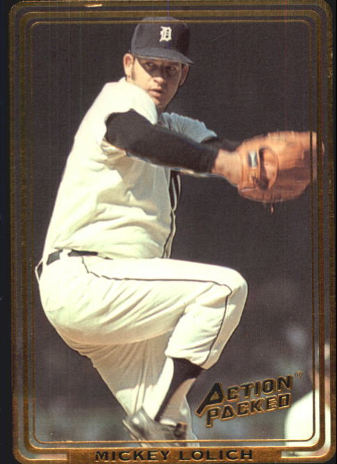 1992 Action Packed ASG #36 Mickey Lolich