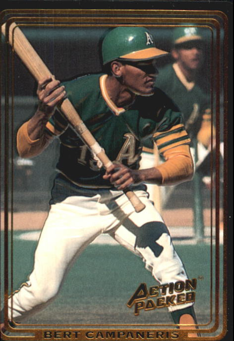 1992 Action Packed ASG #42 Bert Campaneris