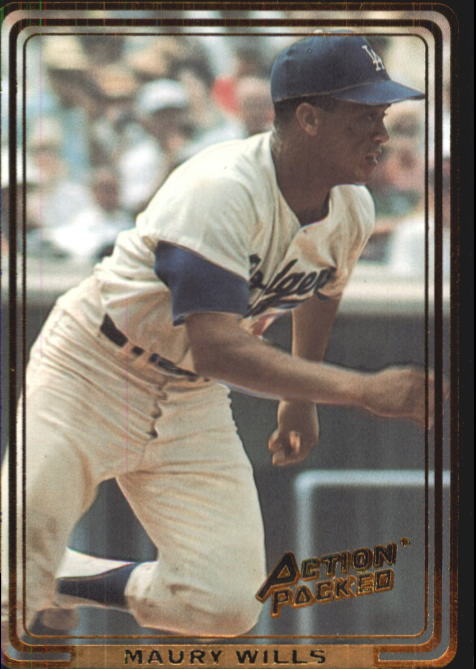 1992 Action Packed ASG #47 Maury Wills