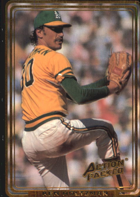 1992 Action Packed ASG #57 Ken Holtzman