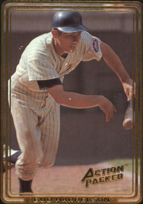 1992 Action Packed ASG #58 Bud Harrelson