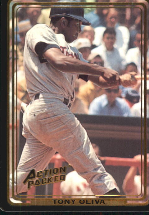 1992 Action Packed ASG #60 Tony Oliva