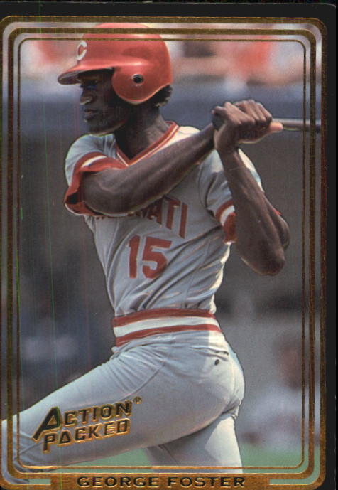 1992 Action Packed ASG #61 George Foster
