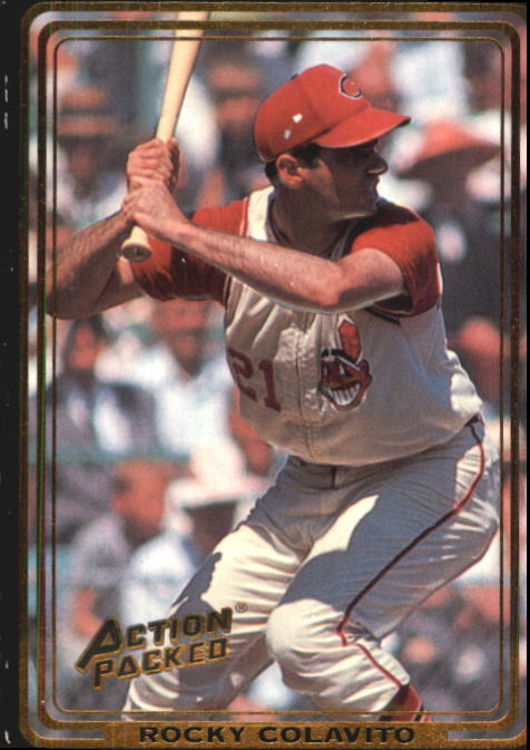 1992 Action Packed ASG #65 Rocky Colavito