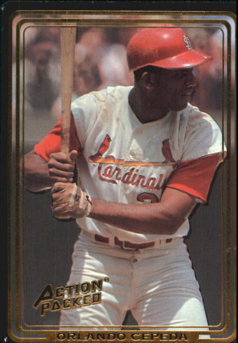 1992 Action Packed ASG #66 Orlando Cepeda